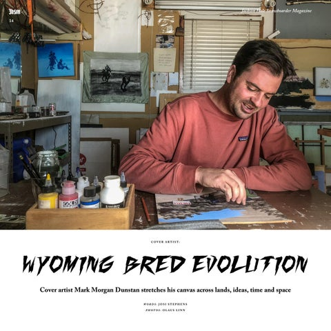 Page 14 of Cover Artist: Wyoming Bred Evolution