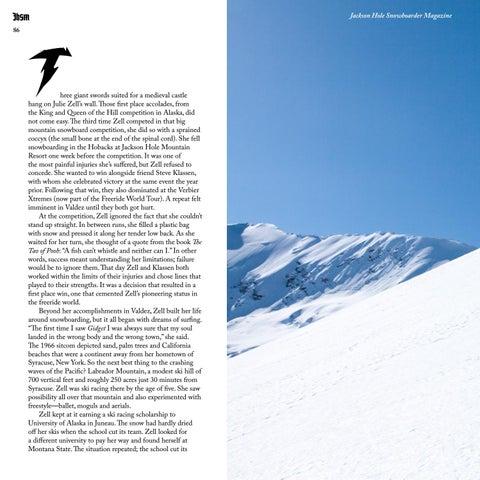 Page 86 of Jackson Hole Legends: Julie Zell