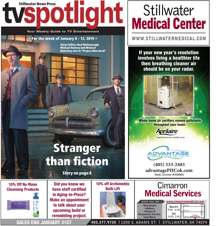 a23c4a750e TV Spotlight 1-6-19 by Stillwater News Press - issuu