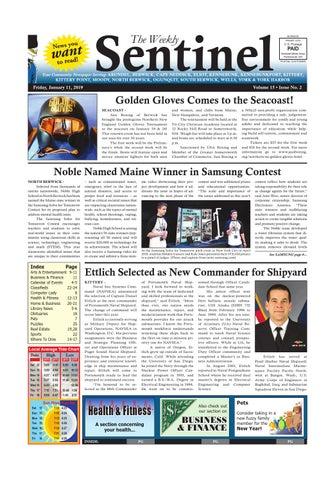 WS Jan  11, 2019 by Weekly Sentinel - issuu
