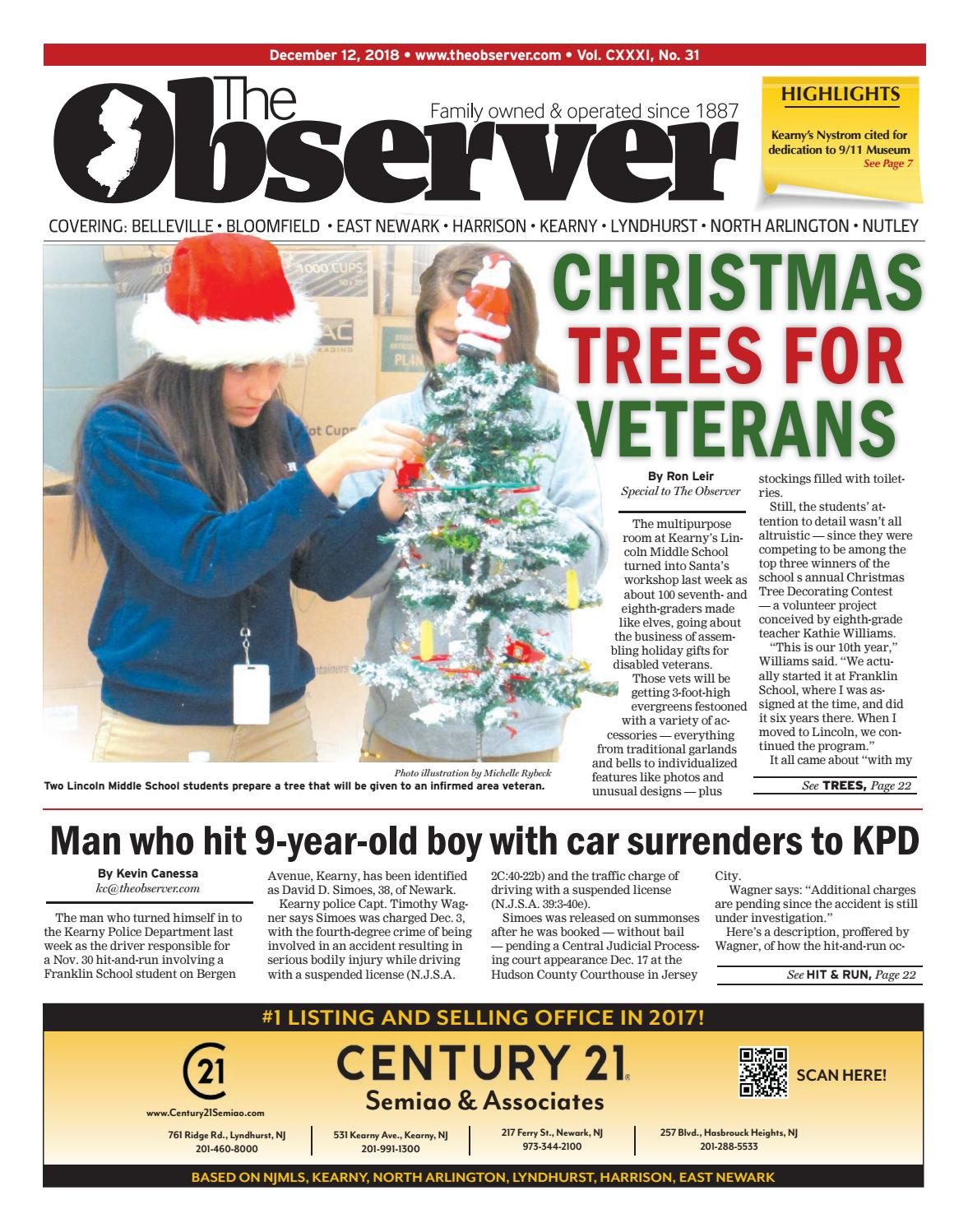 Dec  12, 2018 Edition of The Observer by Kevin Canessa Jr  - issuu