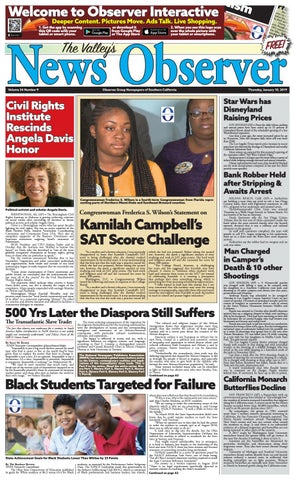 VALLEY'S 1 10 19 4C by Observer Group Newspapers of Southern