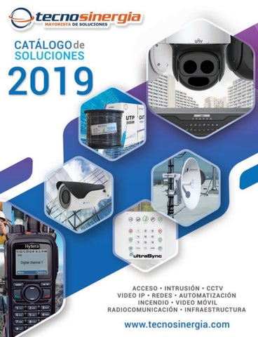 ae8812ef0869a Catálogo de productos 2019 by Tecnosinergia - issuu
