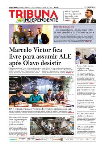 05389589427c4 Edição número 3307 – 10 de janeiro de 2019 by Tribuna Hoje - issuu