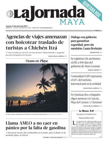 1e537c12119a8 La Jornada Maya · jueves 10 de enero de 2019 by La Jornada Maya - issuu