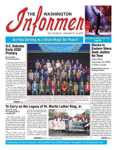 The Washington Informer - January 10 67397751bd17