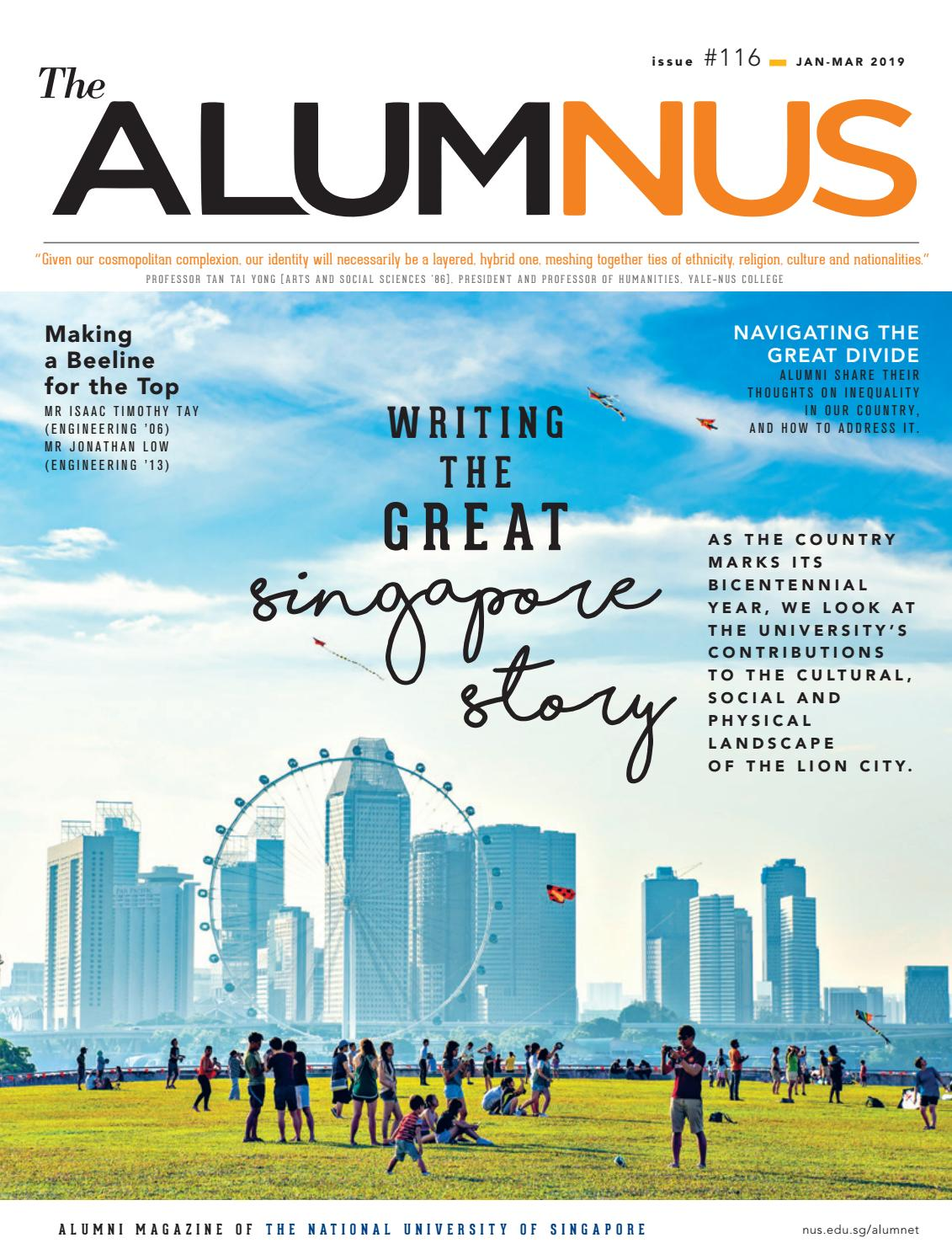 The AlumNUS Jan - Mar 2019 by NUS Alumni Office - issuu
