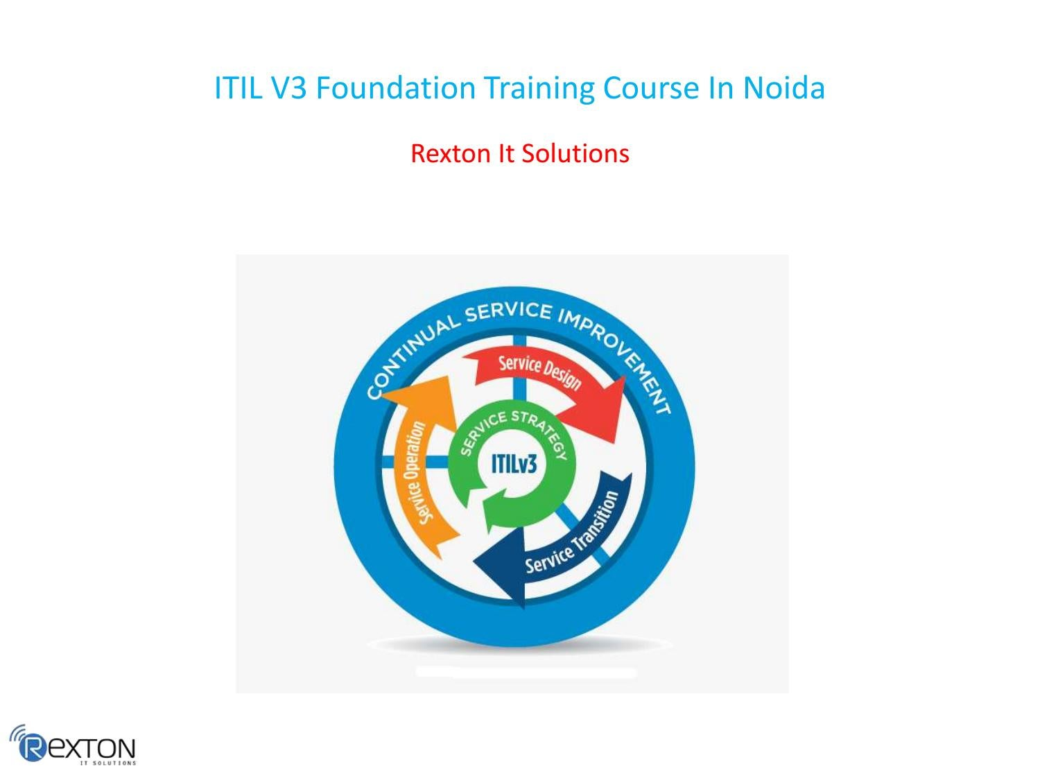 Itil V3 Foundation Training Course In Noida By Ccna Training