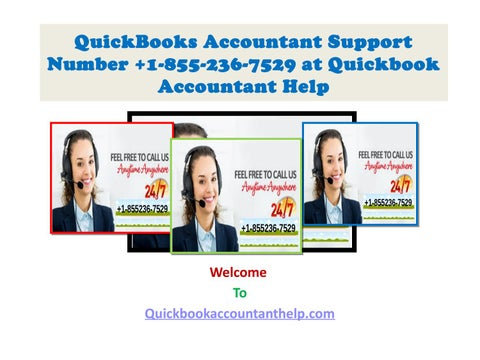 QuickBooks Accountant Support Number +1-855-236-7529 at