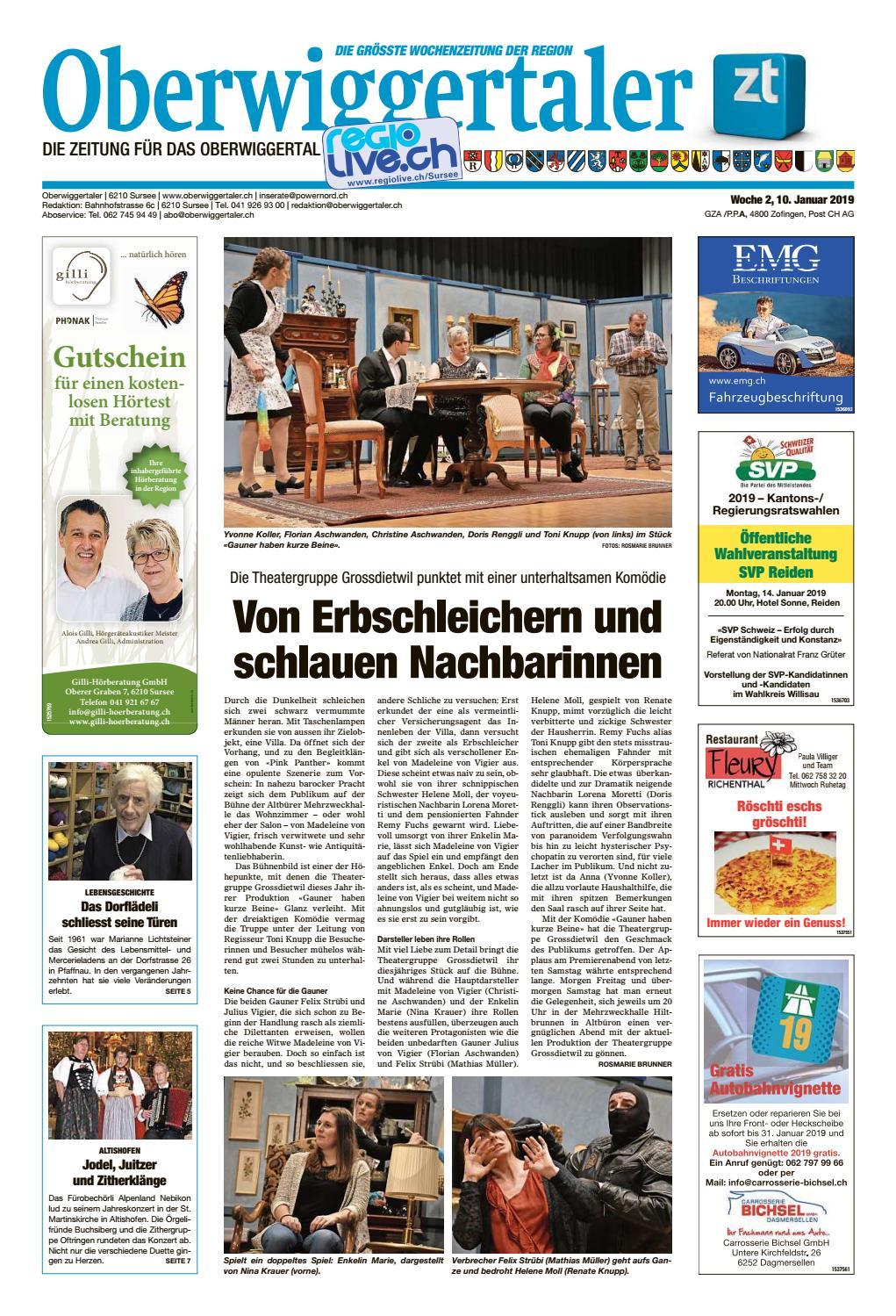 Oberwiggertaler 13/15 by ZT Medien AG - issuu