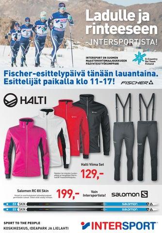 Ladulle ja rinteeseen Intersportista! by Intersport Finland - issuu 815b5f60ae