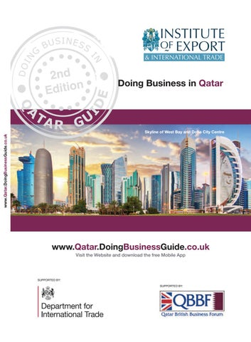 Doing Business in Qatar Guide (2nd Edition) by Doing Business Guides