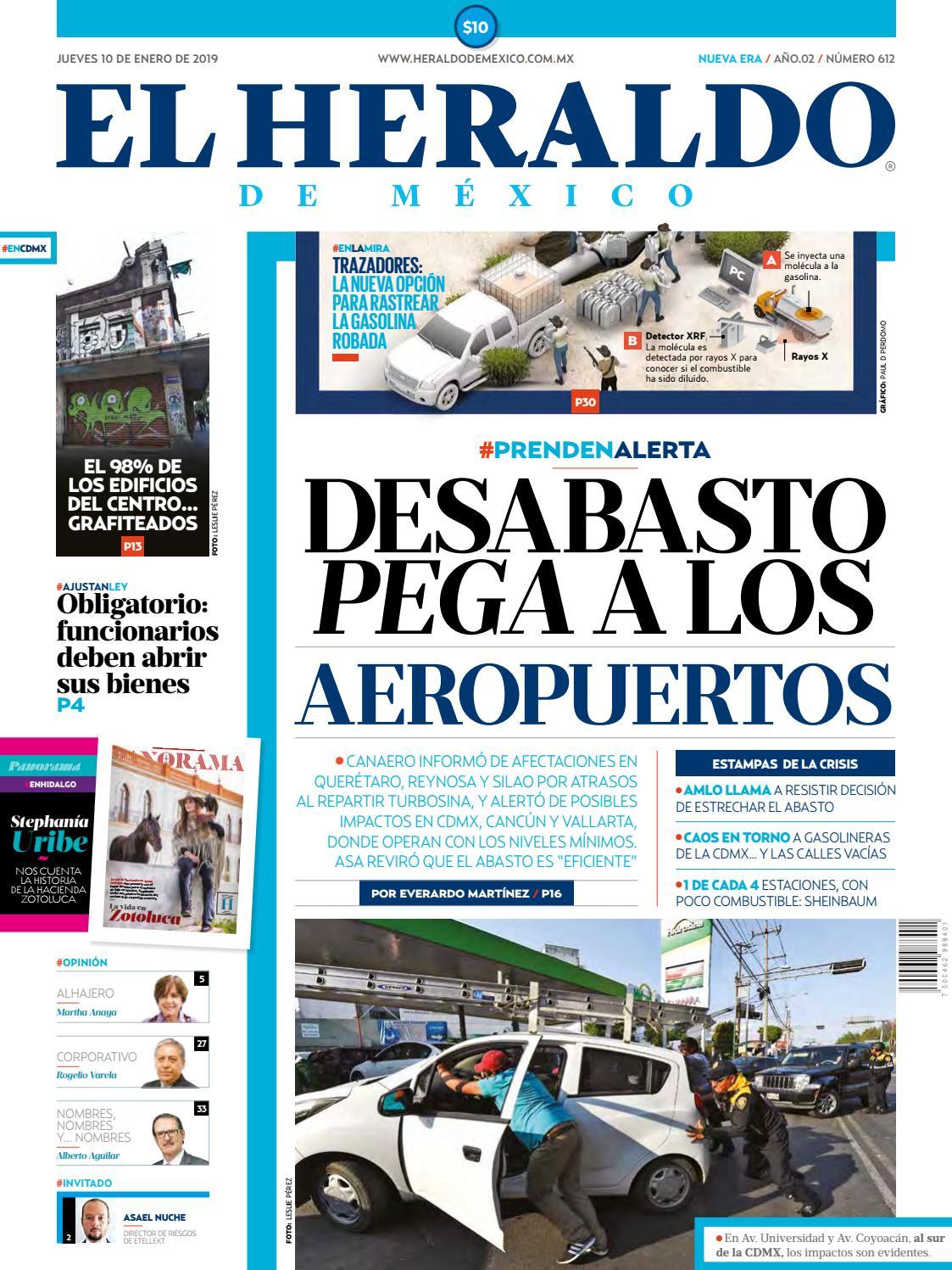 10 de enero de 2019 by El Heraldo de México - issuu a786a3a602781