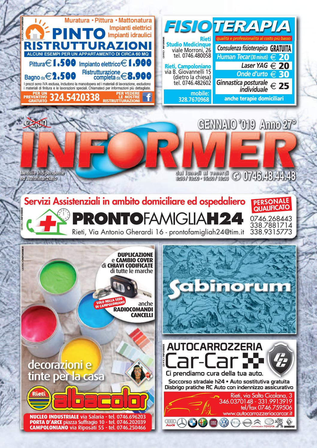 new concept be5e2 fa925 INFORMER gennaio 2019 by informer - issuu