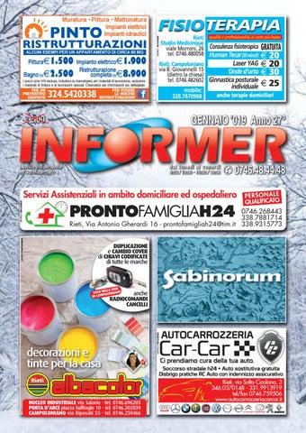 e26cb78d9f INFORMER gennaio 2019 by informer - issuu