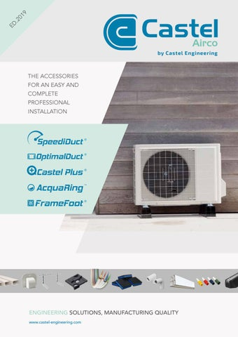 Ongekend Castel Airco 2018 by Castel Engineering - issuu OH-33