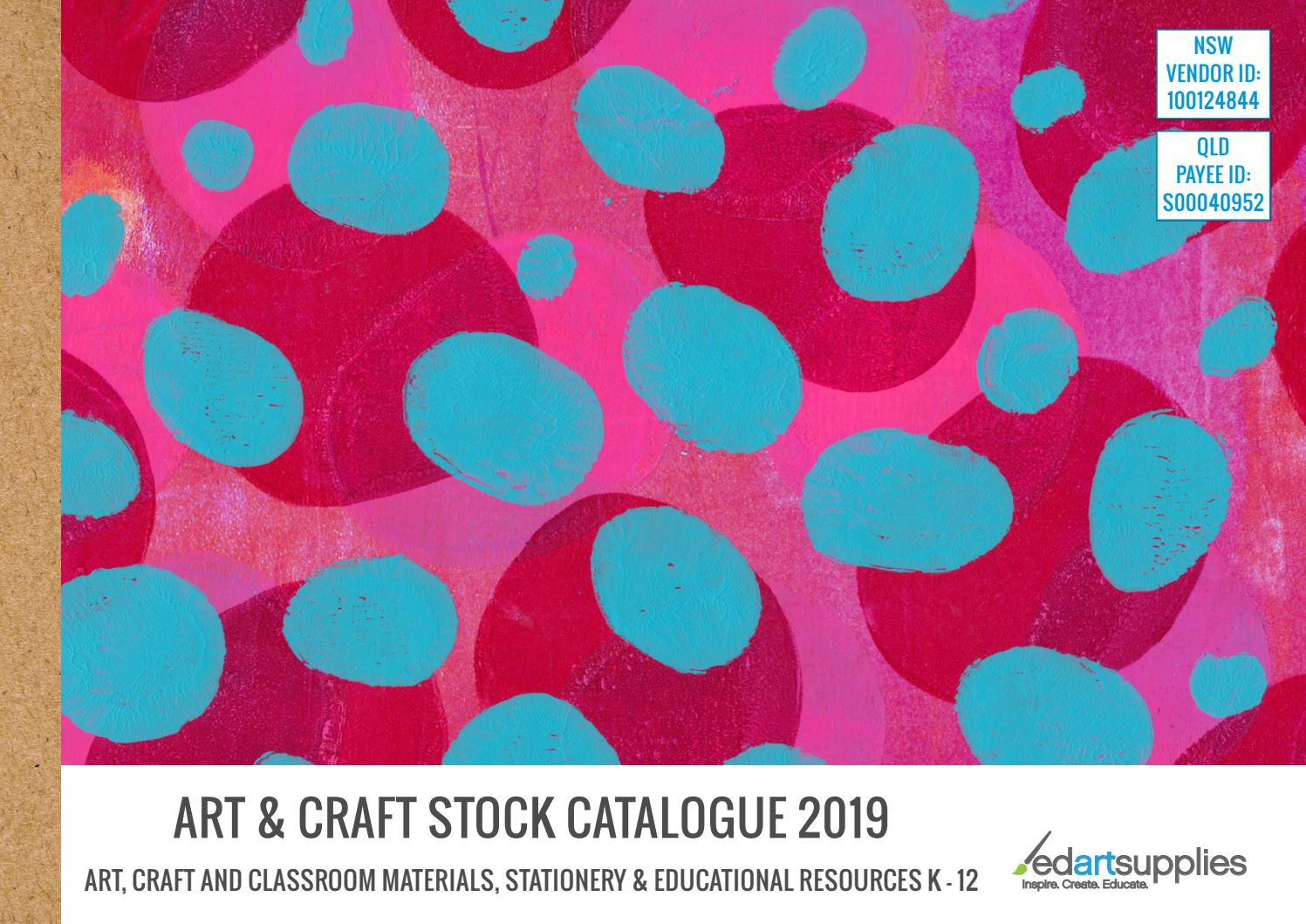 Ed Art Supplies Art Craft Stock Catalogue 2019 By Edartsupplies Issuu