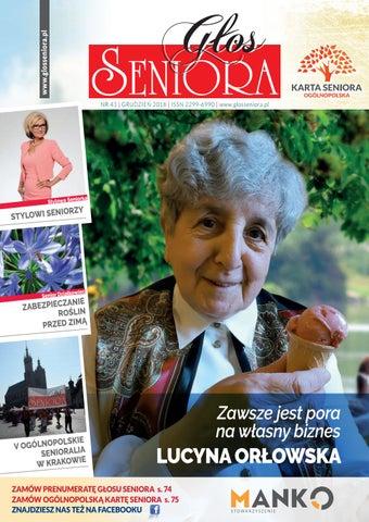 Ogólnopolski Głos Seniora Nr 43 By Stowarzyszenie Manko Issuu