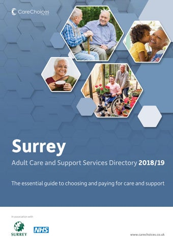 Surrey Care Services Directory - Social Care Information - Care Choices