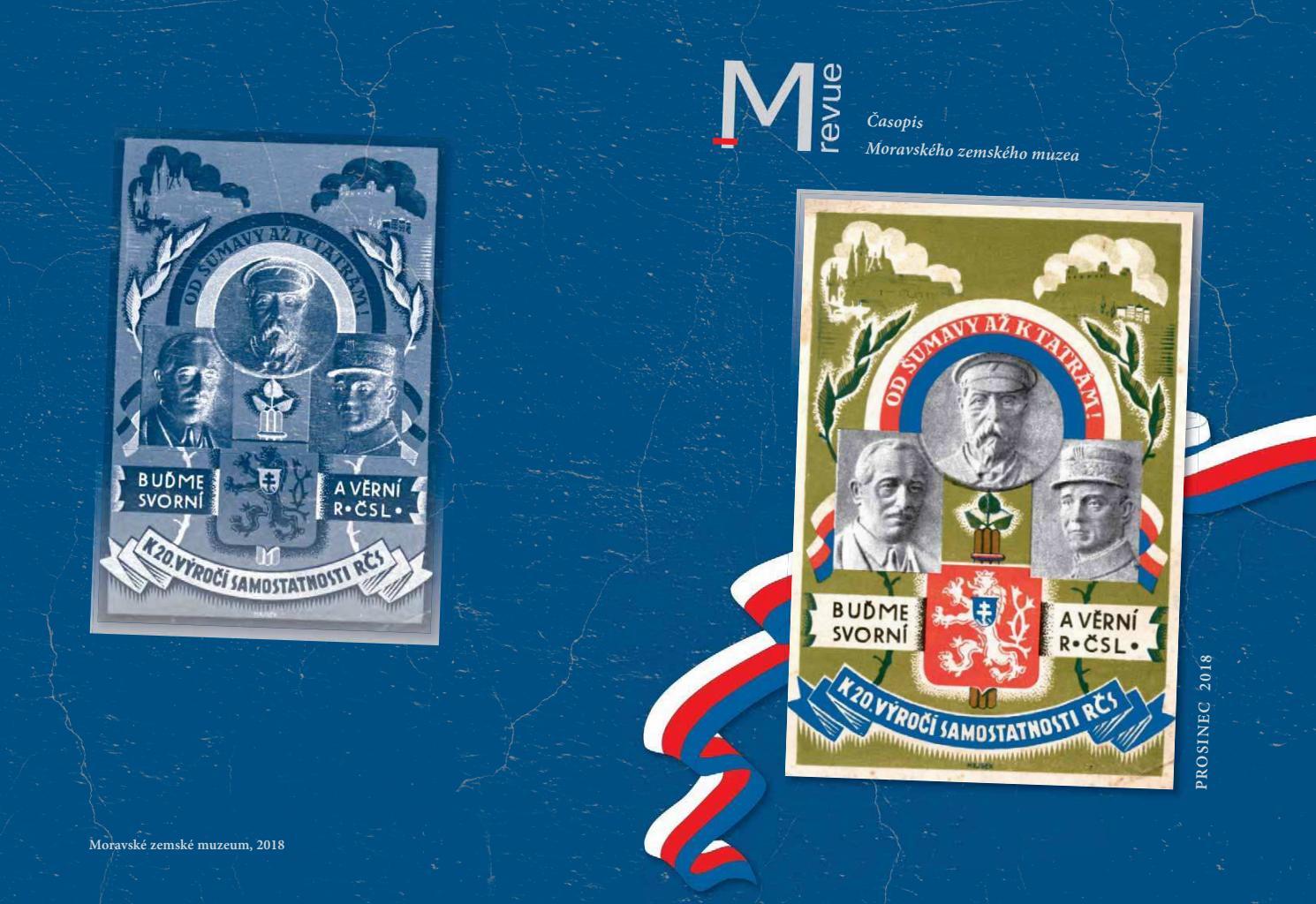 2d99c4cfdfd M revue Moravského zemského muzea 2 2018 by Moravské zemské muzeum - issuu