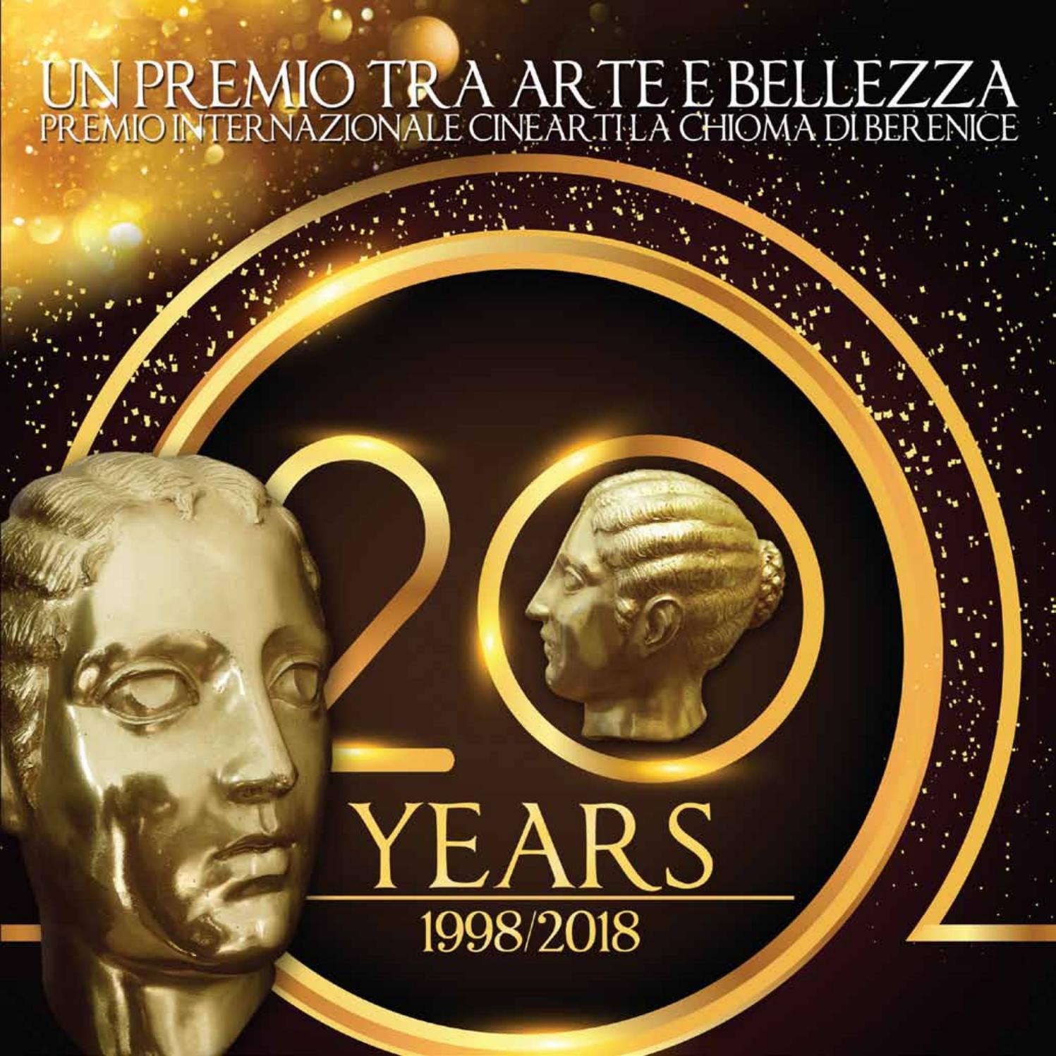 on sale 99b3f b4c21 Premio Internazionale Cinearti La Chioma di Berenice 2018 by CNA Benessere  - issuu