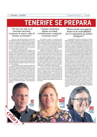 Page 8 of Tenerife se prepara para conquistar Fitur