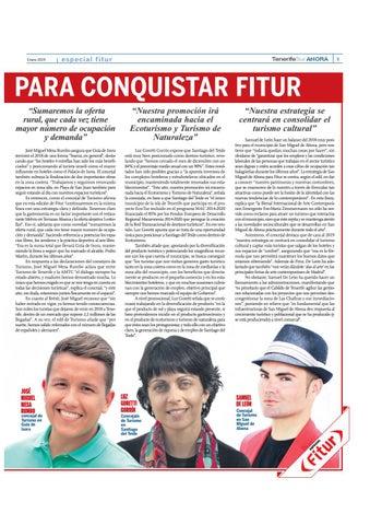 Page 9 of Tenerife se prepara para conquistar Fitur