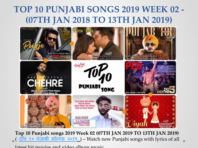Top 10 Punjabi Songs 2019 Week 02 (New Punjabi Video Song