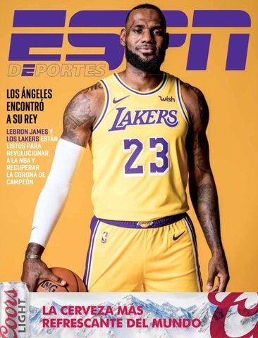46dacc3ce96 ESPN Deportes La Revista - Edición especial LeBron James y los Lakers