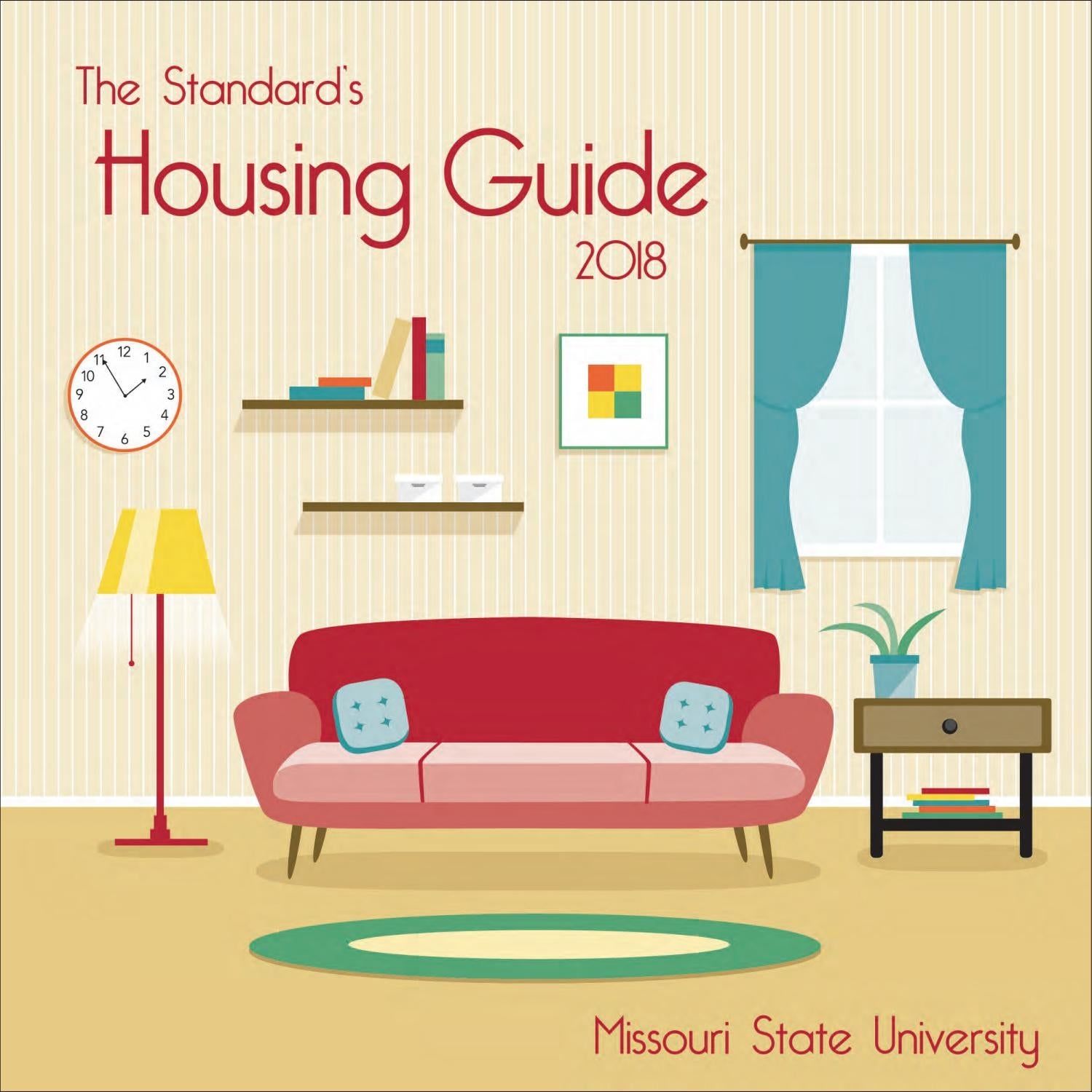 Housing Guide 2018 By The Standard Missouri State University Issuu