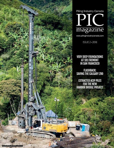 Piling Industry Canada Winter 2018 issue by DEL