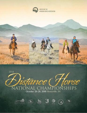 2018 Distance Nationals Program