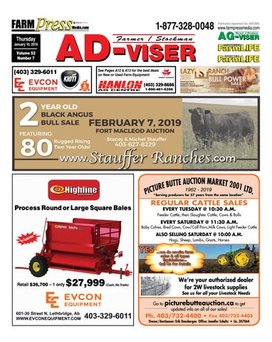 Southern Alberta Advisor, January 10, 2019 by Black Press