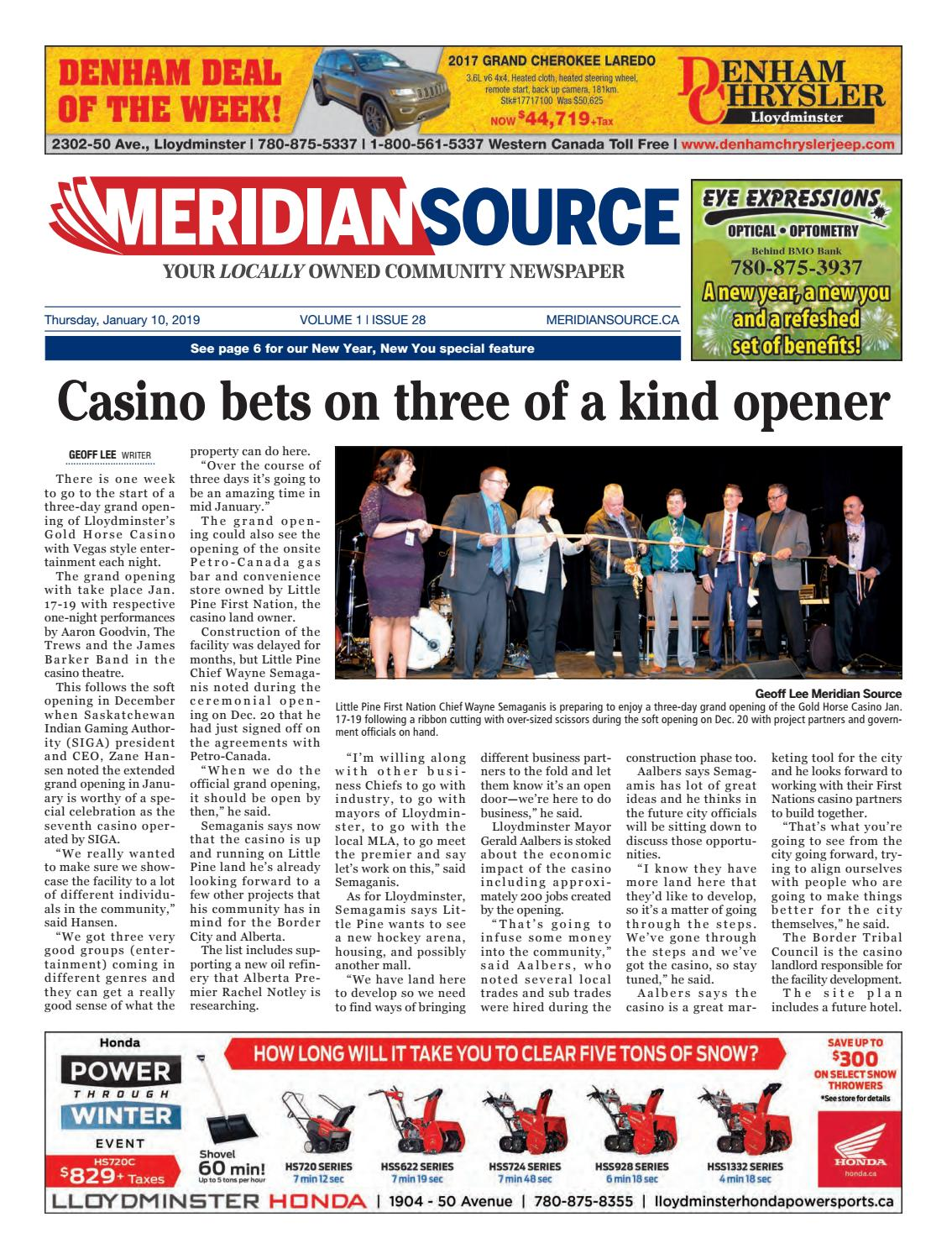 Back pages Meridian