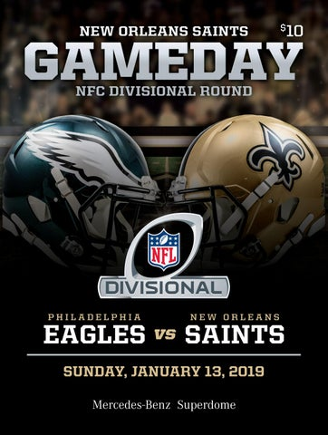 New Orleans Saints Gameday NFC Divisional Round  fbeeb1be7