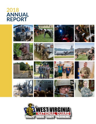 86ac8f84084 West Virginia National Guard 2018 Annual Report by West Virginia ...