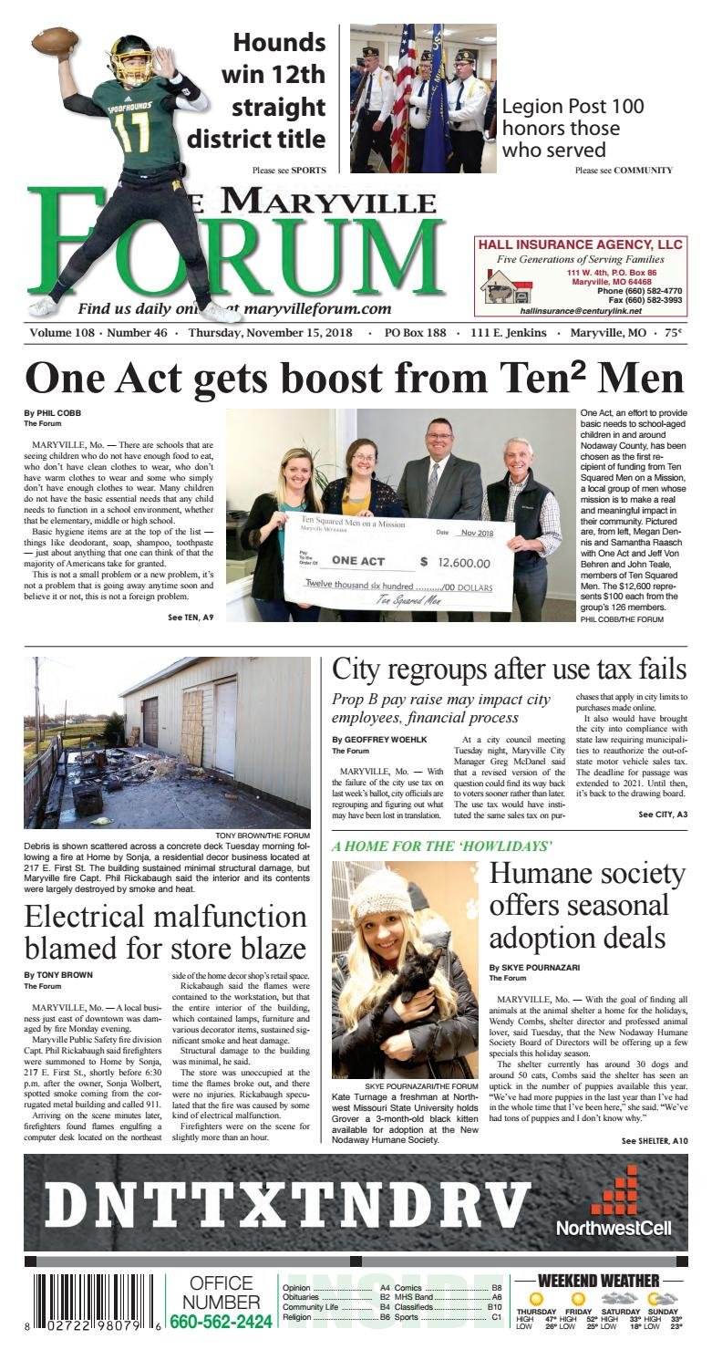 The Maryville Forum by Maryville Daily Forum/The Post - issuu