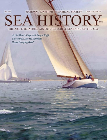 Sea History 165 - Winter 2018-2019 by National Maritime