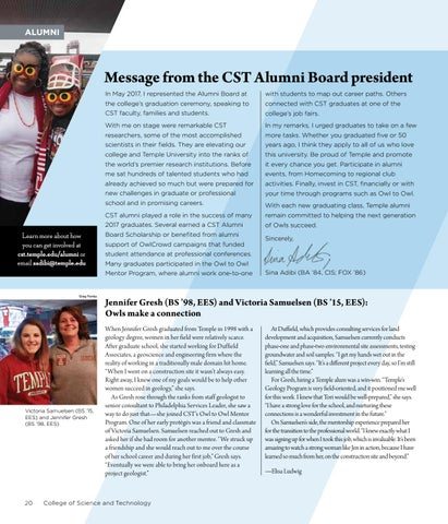 Page 22 of CST Alumni