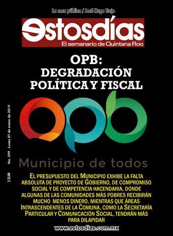 Estosdias 599 by Estosdías S.A de C.V. - issuu 25022d55650e