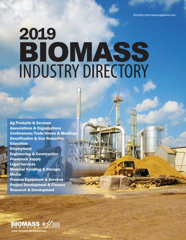 2019 Biomass Industry Directory by BBI International - issuu