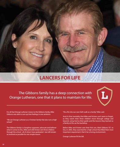 Page 26 of Lancers for Life