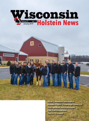 Wisconsin Holstein News - January 2019 by Wisconsin Holstein News