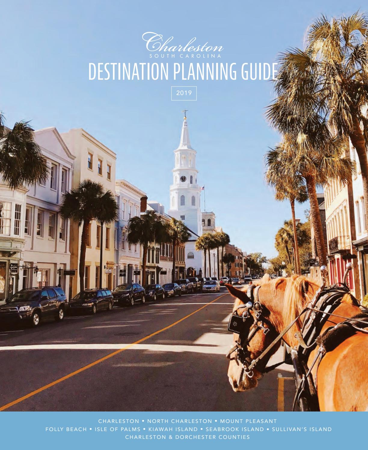 2018-2019 Official Charleston Area Destination Planning Guide by