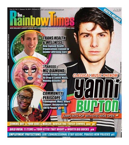 The Rainbow Times January 2019 Issue by The Rainbow Times