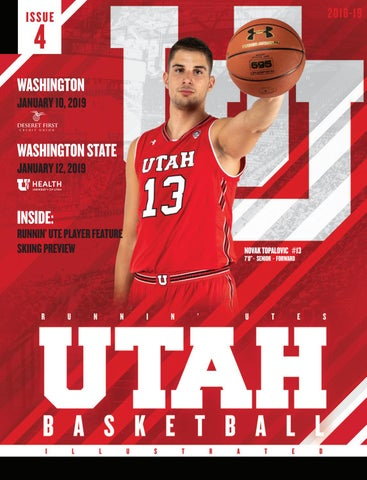 7289320dddf Utah Basketball 2018-19 Issue 4 by Mills Publishing Sports - issuu