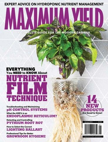 Maximum Yield Modern Growing | Vol  21 Issue 01 2019 by Maximum