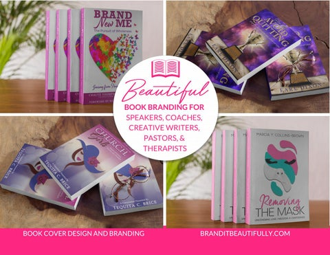 Page 2 of Brand It Beautifully™ Book Cover Design Lookbook