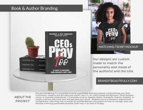 Page 3 of Brand It Beautifully™ Book Cover Design Lookbook
