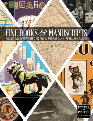 Fine Books Manuscripts Chicago By Potterauctions Issuu